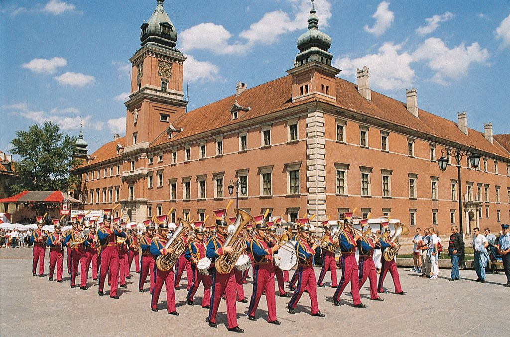 华沙王宫华沙城堡建于图片